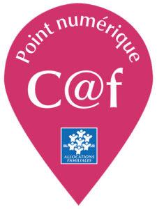logo du point numérique CAF