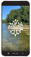 mobile avec l'application mobile de roquettes