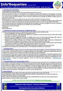 Publication Info'Roquettes