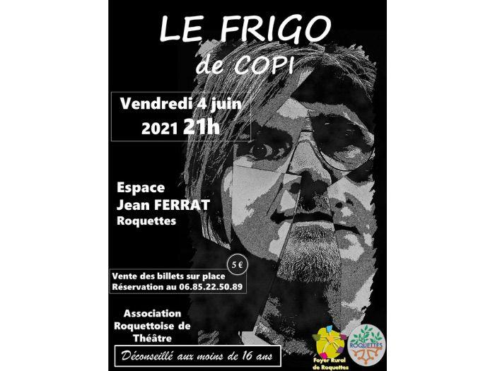 Théâtre - Le frigo de Copi (ART)