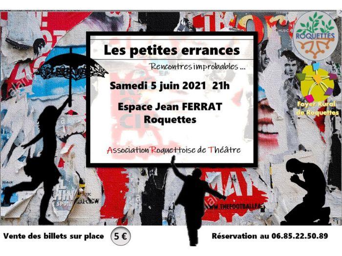 Théâtre - Les petites errances, rencontres improbables (ART)