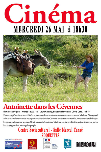 Cinéma - Antoinette dans les Cévennes