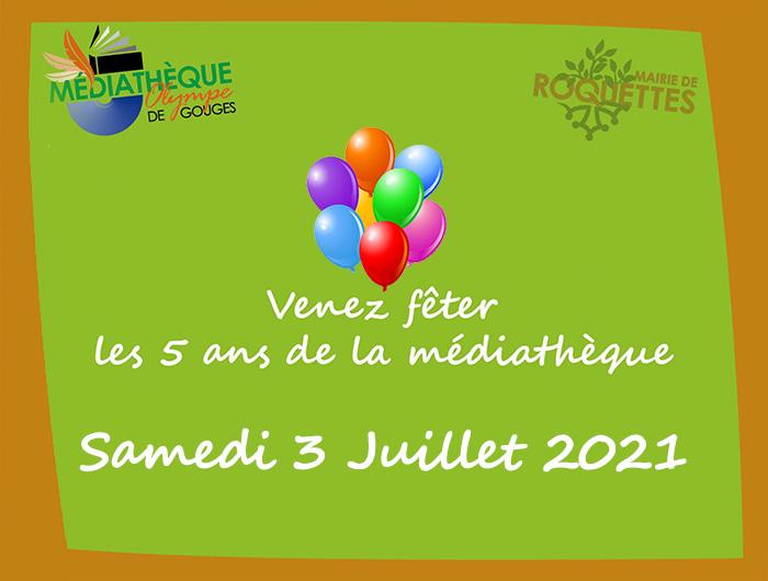 """Anniversaire Médiathèque - Animation """"Lire et Faire Lire"""""""